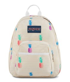 Small and light, the JanSport Half Pint is the perfect throw-on-and-go minature backpack! Features include a front utility pocket and key clip, check it out now! Mochila Jansport, Jansport Superbreak Backpack, Mini Backpack, Travel Backpack, Pineapple Backpack, Half Pint, Pusheen, School Backpacks, Vans