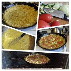 "Cast Iron Quiche w/ potato ""crust""! by Jayson Malcolm Van Atta Cast Iron Recipes, Cast Iron Cooking, Cast Iron Cookware, Quiche Recipes, Nom Nom, Potatoes, Van, Beef, Vans"
