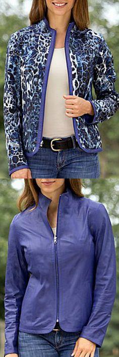 Paige Reversible Lambskin Leather Jacket