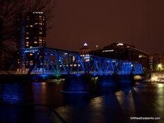 The Blue Bridge over