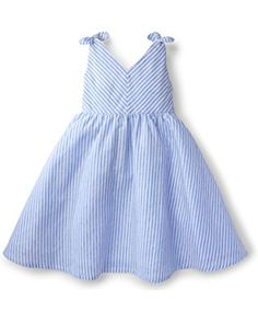 Hope   Henry Girls Bow Shoulder Dress Made With Organic Cotton 1e337543c8bb