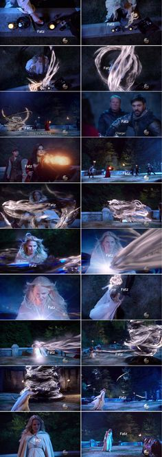 "Emma, Regina, Arthur and Merlin - 5 * 5 ""Dream Catcher"""