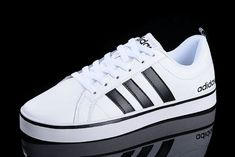 You need one pair Adidas Women Men Neo Pace VS Low White Carbon Black - All Adidas Shoes Online Sale Now Adidas Neo Shoes, Adidas Sneakers, Steel Bike Frames, Super Deal, Carbon Black, Adidas Nmd, Shoe Sale, Skort, Shoes Online