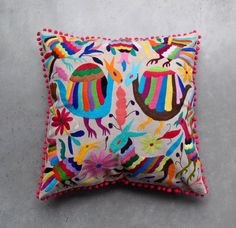 OTOMI PILLOW COVER - Large Multi Colour - Ready to Ship - Free Shipping