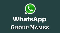 Checkout the Latest WhatsApp Group Names, Right Now!!    https://trickideas.com/best-whatsapp-group-names/    #Cool #Funny #New #WhatsApp #Group #Names #Friends #Family