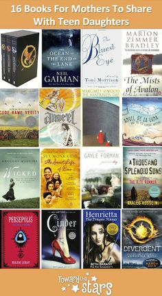 """""""Hi TTS! My 17 year-old daughter and I are going spend a month traveling the world together. We would love to share some diverse and empowering books that can keep us both engaged and inspire some great discussions. Can you help?"""" - Maya Trew. Hi Maya, here is our selection of great reads for young adults and adults young at heart :) #StrongWomen http://archive.aweber.com/ttsbuying/Kz3sv/h/16_Books_For_Mothers_To_Share.htm"""