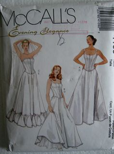 McCalls Misses Evening Elegance Lined Tops and by Vntgfindz