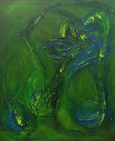 """Flow by Heather Buechler   $250   18""""w x 20""""h   Original Art   http://www.vangoart.co/buy/art/flow--2 @VangoArt"""