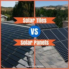 """Solar Tiles v Solar Panels: """"Tiles, technically speaking, are photovoltaic cells that mimic traditional roof shingles. They first became commercially available in at that time, they were more ex (Tech Home Solar Panels) Solar Panels For Home, Best Solar Panels, Cost Of Solar Panels, Solar Panels On Roof, Cheap Solar Panels, Pv Panels, Ideas Paneles, Alternative Energie, Photovoltaic Cells"""