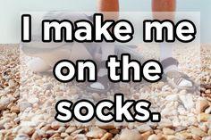 Ich mache mich auf die Socken. | 13 Beweise, dass wir der Welt deutsche Sprichwörter nie übersetzen sollten