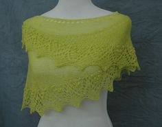 Annis knit with Yarns to Inspire Gossamer Lace.  Colorway: Key Lime Pie.  Gossamer Lace can be purchased at http://www.etsy.com/shop/YarnstoInspire