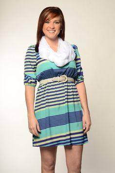 Stripe Me Down Dress  KashCollection.Com  $49.99