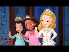 Sofia The First - Slumber Party! - YouTube