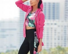 Pink Zip Through Hoody from Next