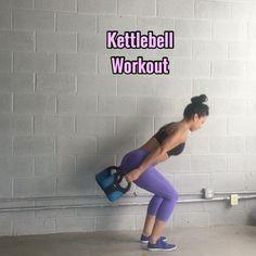 "8,340 Likes, 166 Comments - Carmen Morgan (@mytrainercarmen) on Instagram: ""Kettlebell Workout Grab 2 Kettlebells, I'm using 2 @capbarbell soft kettlebells that weigh 10lbs…"""