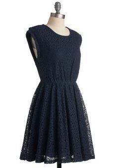 audition dress? Neighborly in Navy Dress
