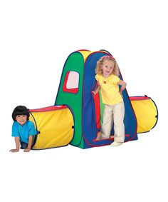 Take a look at this Tunnel Crawl 'N' Play Tent on zulily today!