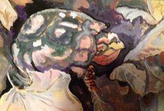 Bill Kassel Fine Art Studio: On my easel - Eastern Box Turtle