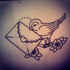 Just found it cute! (Idk why but I love looking up tattoos on google and posting them on Pinterest just in case someone falls in love with it and I helped them find their next tattoo (: )