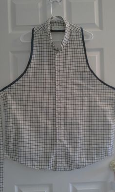 Made from a mens shirt