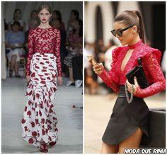 Se nas últimas temporadas o Japão se fez presente em quimonos, estampas e texturas, este ano a Espanha rouba a cena. Como? Em peças como o bolero flamenco, bordados, as rosas vermelhas, o 3D e os babados. O New York Fashion Week para o a primavera verão 2016 de Oscar de La Renta …