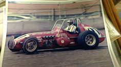 Sprint Car Racing, Old Race Cars, Vintage Race Car, Dirt Track, Crown, Vehicles, Silver, Corona, Car