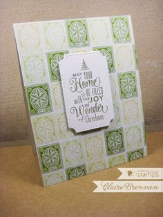Waltzingmouse Vintage Postcards stamp set and pretty panels dies