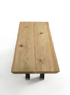 Riva 1920, made in Italy: Luca table, project by C. R. & S. Riva 1920.