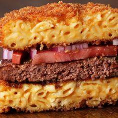 Mac And Cheese Burgers