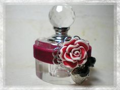 Rose French Style Boudoir Perfume Bottle by jewelsofthecity