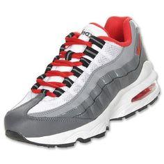 Nike Air Max 95 Big Kids Running Grey Red 307565-088 (GS) Nike. $97.99