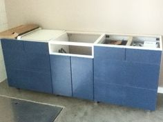 Assembly tips on Ikea kitchen cabinet and sink base. Tips and tricks to help folks avoid some of the many ways these things can go wrong. There are some othe...