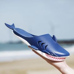 Funny Slippers, Shark Slippers, Nes Classic Mini, Cool Sharks, Silver Shark, Neck Pain Relief, List Style, Summer Wear, Look Cool