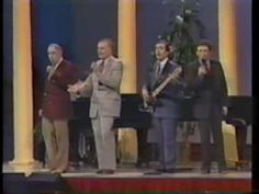 """By the Cathedral Quartet from the VHS """"An Evening With the Cathedrals"""" with George Younce, Glen Payne, Mark Trammell, Danny Funderburk, and Roger Bennett on . Worship Songs Lyrics, Praise And Worship Music, Praise Songs, Then Came The Morning, Morning Live, Music Sing, Good Music, Pentecost Songs, Gaither Homecoming"""