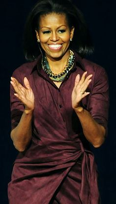 First Lady Michelle Obama, love her style!