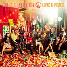 Girls' Generation (SNSD) - Love & Peace Japanese Album] (Album Art) Tracks: Gossip Girls Motorcycle Flyers Galaxy Supernova Love & Girls Beep Beep My Oh My Lips Do The Catwalk Karma Butterfly Lingua Franca Everyday Love Blue Jeans Snsd, Sooyoung, Yoona, Kpop Girl Groups, Korean Girl Groups, Korean Group, Kpop Girls, Yuri, Enjoy Girl