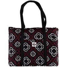 Women's The Honour Society Georgia Bulldogs Quilted Tote Bag