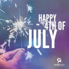Happy 4th of July to everyone celebrating today! 🎆 🇺🇸 💥 🎊 Have a good one! #4thofjulyweekend #4thofjuly2017 #happyindependenceday #Craftamo