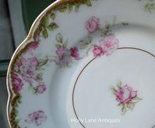 plates, china pattern, haviland limog, antiqu haviland, limog plate, plate rare, eleg antiqu, antiques