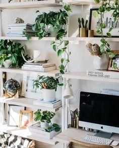 """106 gilla-markeringar, 1 kommentarer - @josefinochvanja på Instagram: """"Dreamy leafy office space🍃😻🌴Ha en underbar kväll gullisar 💋 #JosefinOchVanja"""""""