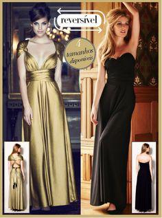 todos os estilos que pode desejar num só vestido!  Vestido 16 Ways to Wear Fala comigo se quiseres encomendar