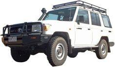 4WD Toyota Landcruiser 76 series Workmate Wagon or similar