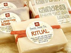 Soap Packaging-Useful Tips for Labeling Your Soaps