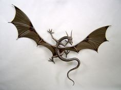 Wall Mounted Dragon by verymetal on deviantART