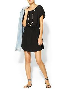 Splendid Short Sleeve Mini Dress | Piperlime