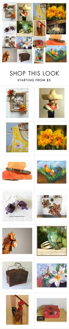"""""""Ode To Etsy Treasuries"""" by sylvia-cameojewels ❤ liked on Polyvore featuring Marc, etsy, etsytreasuries and Treasuries"""