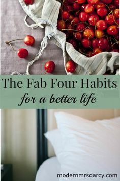 If you're interested in improving your habits but aren't sure where to start, begin with these four foundation habits. These habits greatly affect our well-being and directly strengthen self-control, so if you want to make changes that last, start here.