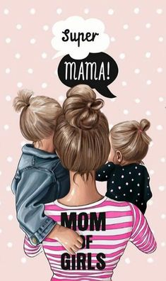 37 ideas baby wallpaper quotes for 2019 Mother Daughter Art, Mother Art, Mother And Child, Mother Mother, Baby Girl Drawing, Bff Drawings, Baby Wallpaper, Wallpaper Quotes, Super Mom