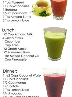 Easy Detox Your Body - Cleanse, Tea, Water, Recipes Detox Recipes, Smoothie Recipes, Soup Recipes, Cooking Recipes, Lunch Smoothie, Recipies, Detox Foods, Diet Detox, Cleanse Detox