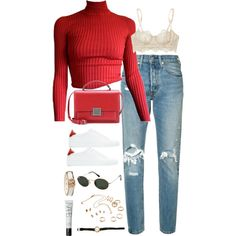 Sem título #5394 by fashionnfacts on Polyvore featuring polyvore, fashion, style, Levi's, I.D. SARRIERI, Givenchy, Yves Saint Laurent, Gucci, Ray-Ban and NARS Cosmetics